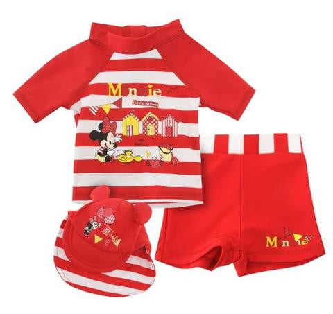 Minnie Mouse 3 pc Swim set