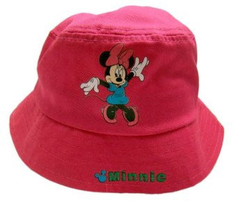 Minnie Mouse Pink Bucket Hat