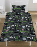 Rick & Morty Single Quilt Cover