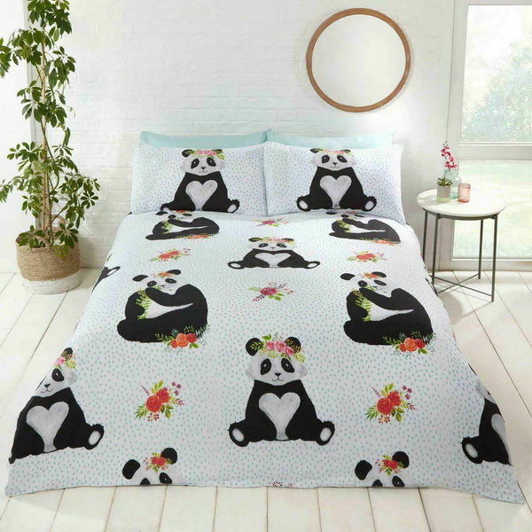PANDA  Double/Queen Quilt Cover
