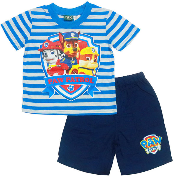 Paw Patrol Boys Tshirt and shorts