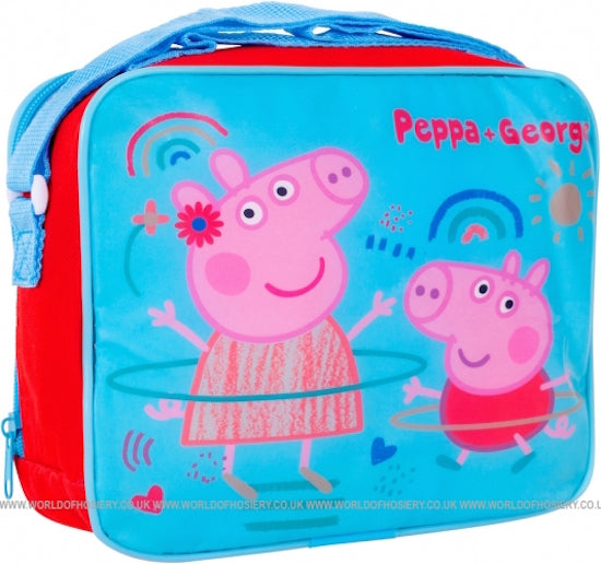 Peppa Pig and George   Insulated lunchbag