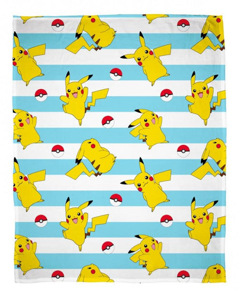 "Pokemon * ""Jump""  Coral Fleece blanket"