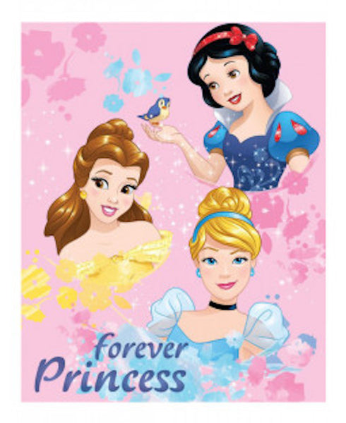 "Disney Princess ""Forever"" Blanket"