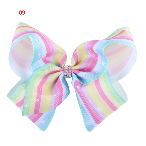 Rainbow Star  Diamonte bow