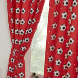 Football Soccerball   Curtains