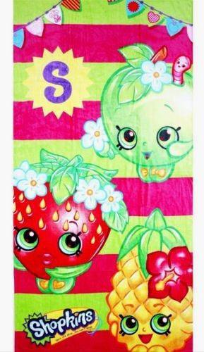 Shopkins Large Towel