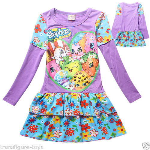 Shopkins Lilac Dress