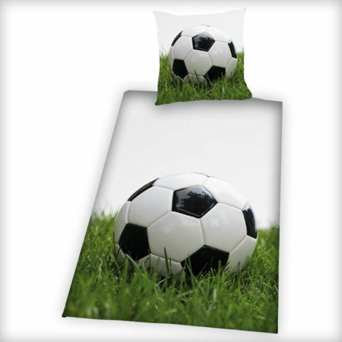 Football Soccer Single Quilt cover