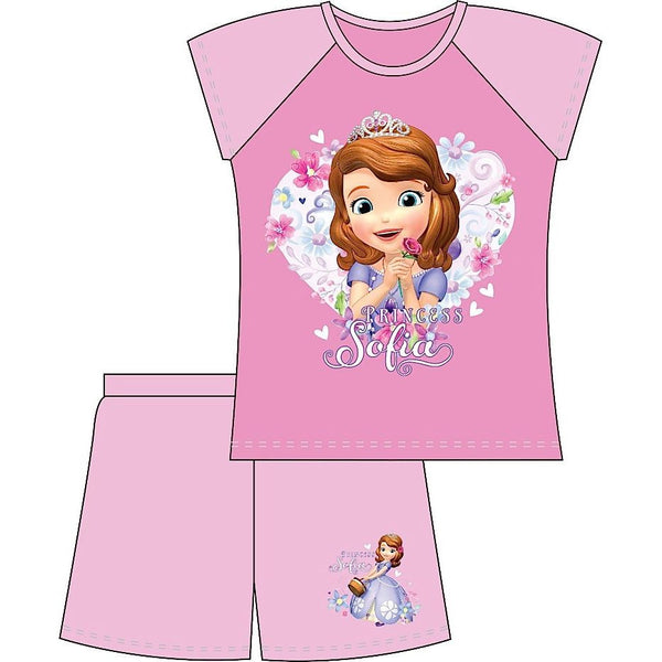 Sofia The First Summer Shortie Pjs