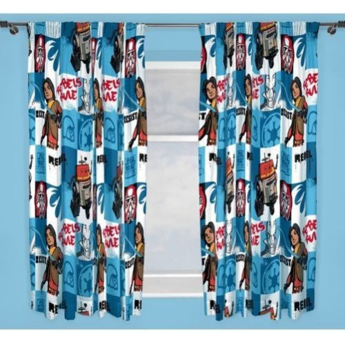 Disney Star wars  Rebel Curtains