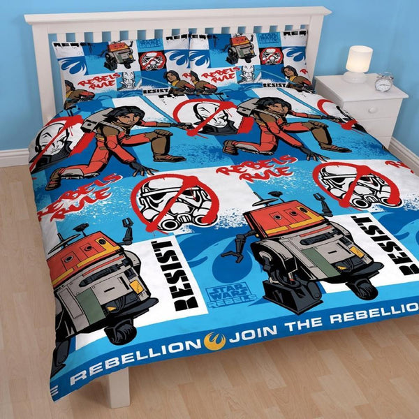 Star wars Rebellion Double Quilt Cover