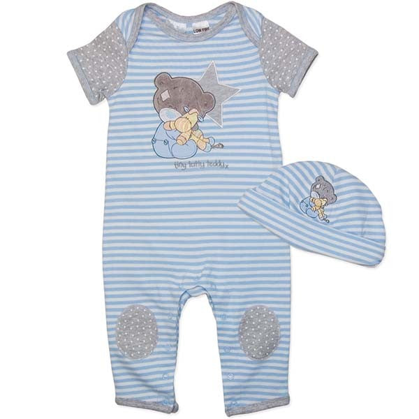 Tatty teddy romper with hat