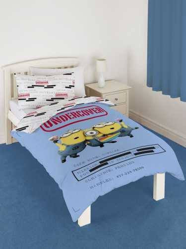 Minion Undercover Single  Quilt cover