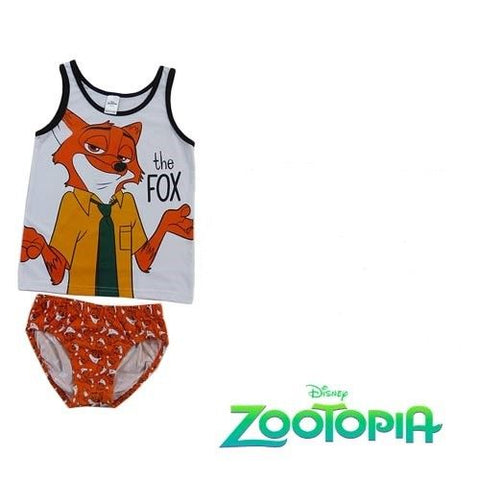 Zootopia Singlet and  Briefs set