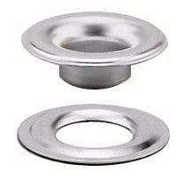 "3/16"" Stainless Steel Grommet and Plain Washer - Stimpson"