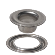 Stainless Steel #2 Self-Piercing Grommet & Washer  - Stimpson