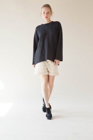 Stretch Cotton Raglan