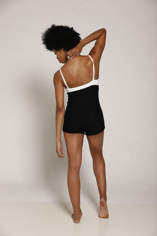 Mesh Upper Short Bodysuit
