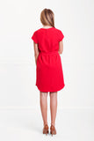 PAIGE DRESS RED