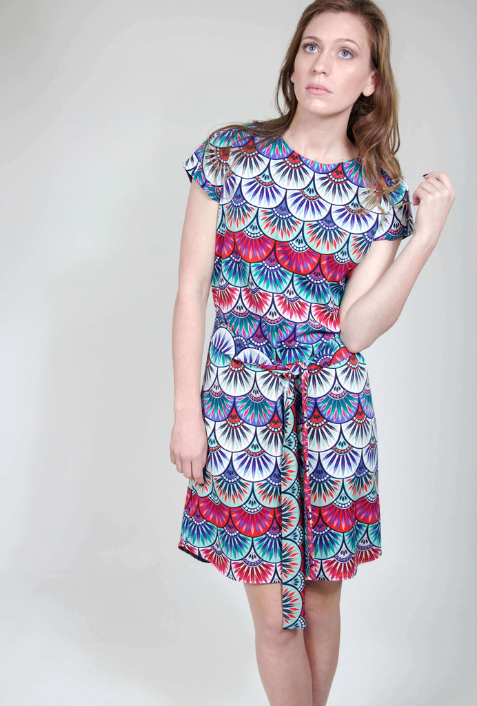 PAIGE DRESS MULTI