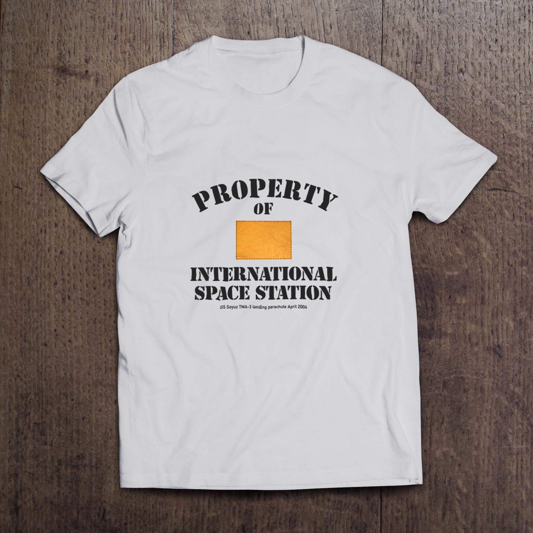 Property of International Space Station Soyuz White t-shirt