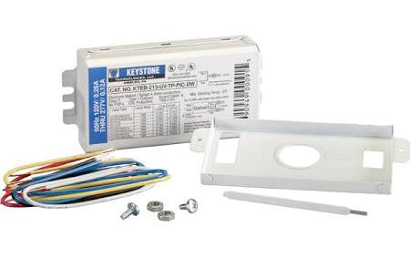 KTEB-213-UV-RS-DW KIT Keystone Electronic Fluorescent Ballast