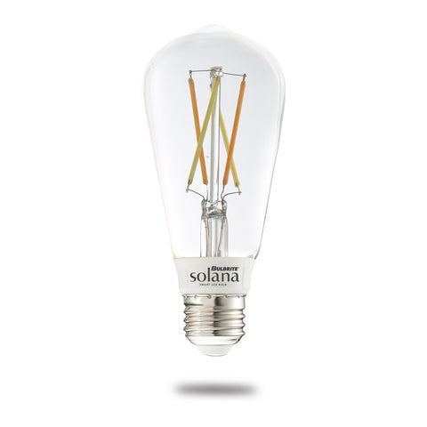 Bulbrite 291120 SL5WST18/W/CL/1P SMART LED WIFI BULB 5.5W ST18 WHITE LIGHT CLEAR 60W EQUIVALENT