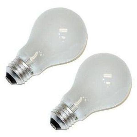 Bulbrite 110025 25A19F/12 25W 12V Frost Incandescent Light Bulb (2 pack)