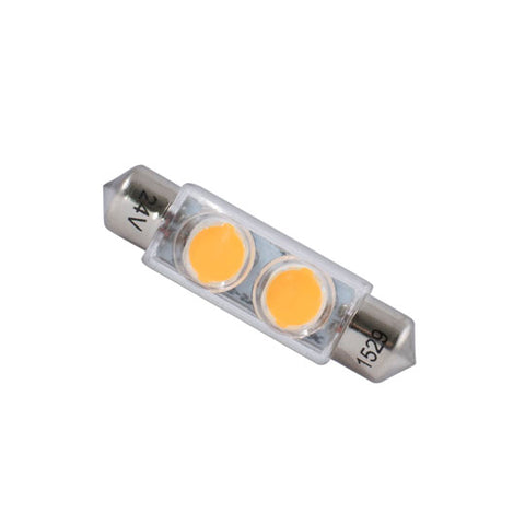 Bulbrite 770571  LED2G4/30K/12 2W LED G4 CLEAR 3000K 12V
