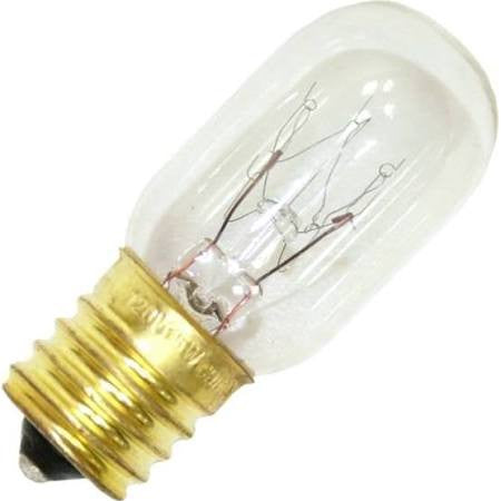 Halco 9037 T7CL15INT Indicator Light Bulb 15 watt 120 volt Intermediate