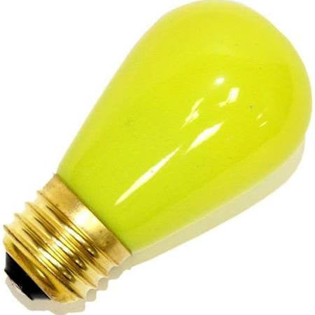 Halco 105336 S14YEL11C 11W S14 CERAMIC YELLOW 130V