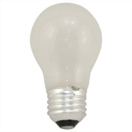 Bulbrite 104025 - 25A15F 25-Watt Incandescent Standard A15, Medium Base, Frost