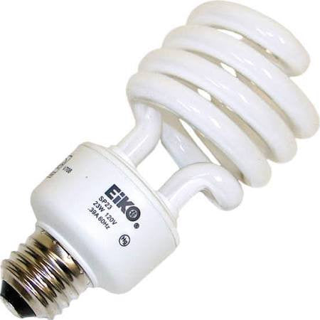 23 Watt Compact Fluorescent Light Bulb - 3500K