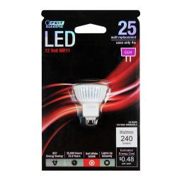Feit BPMR11/LED 240 Lumen 3000K Non-Dimmable LED