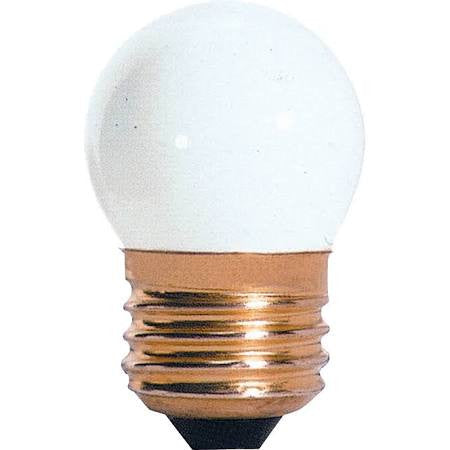 Bulbrite 702007  7.5S11W 7.5 Watt, 130 Volt S11 White