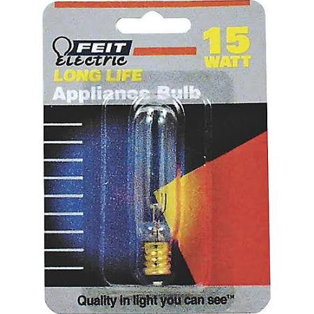 Feit - 15T6-145 - Clear Appliance T6 Tubular Bulb