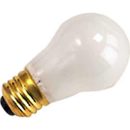 Halco 6014 A15FR15 Incandescent Medium Base A15 15W Frost Bulb