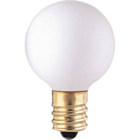 Bulbrite 300005 10G9WH G9 Globe Light Bulb