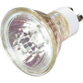 Satco S3515 Satco 20MR16/GU10/FL 20 Watt 120 Volt MR16 GU10 Twist Lock Base Flood Halogen Lamp