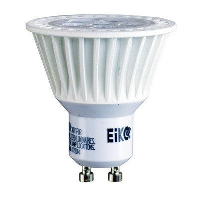 Eiko 10081 LED7WGU10/FL/840-DIM-G8 LitespanLED GU10 FLOOD 40 Degree Beam 7W-500LM Dimmable 4000K 80CRI 120V