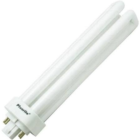 Plusrite 4049 PL57W/3U/4P/835 57W 3500K Triple Tube 4 Pin Base Compact Fluorescent Light Bulb
