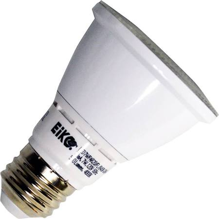 Eiko 09189 LED7WPAR20/NFL/840K-DIM-G6 LED PAR20 7W Narrow Flood 4000K