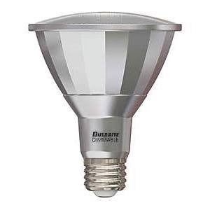 Bulbrite LED PAR30LN 13W Dimmable Outdoor Rated 2700K Warm White 25D 1PK (772730)