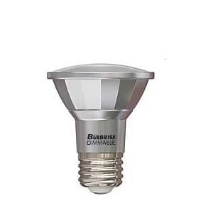 Bulbrite LED PAR20 7W Dimmable Outdoor Rated 2700K Warm White 40D 1PK (772711)