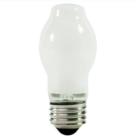 150W BT15 Halogen Light Bulb - White Coated, 1,500 Life Hours, 120V - EIKO 81141 150BT15/H/W