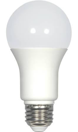 Satco S29839 9.8A19/OMNI/220/LED/50K 9.8W A19 LED 120v Frosted E26 Medium base 5000K Dimmable