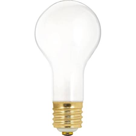 Satco S1825 50-100-150W 3-Way PS25 Mogul Base Incandescent Frosted