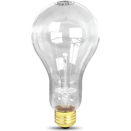 300W 120-Volt Incandescent Light Bulb Feit Electric 300M