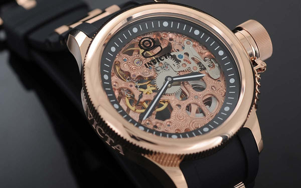 A Skeleton Watch Lets You See The Gears In Action